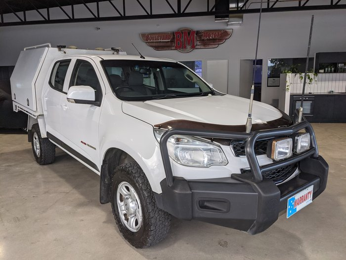 2015 Holden Colorado LS RG MY16 4X4 Dual Range Summit White