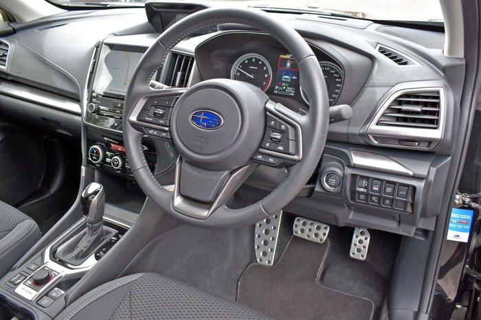 2019 Subaru Forester 2.5i Premium S5 MY20 AWD Black