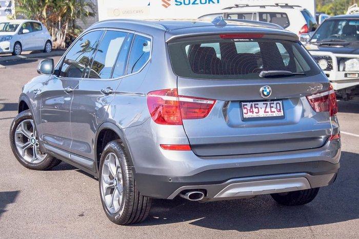 2015 BMW X3 xDrive20d F25 LCI 4X4 Constant Silver