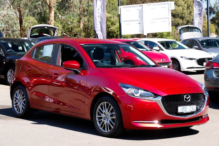 2020 Mazda 2 G15 Evolve DJ Series Soul Red Crystal
