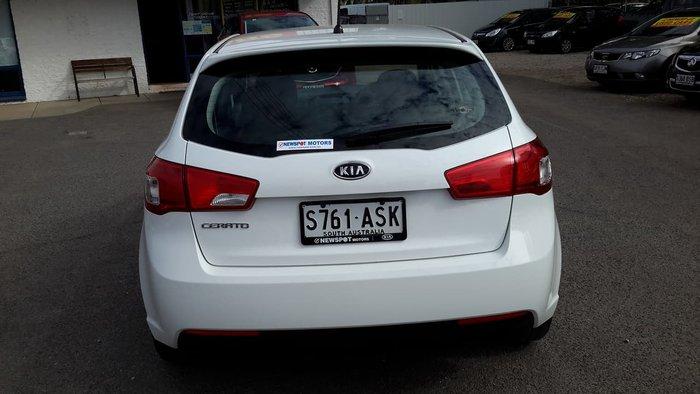 2011 Kia Cerato S TD MY11 White