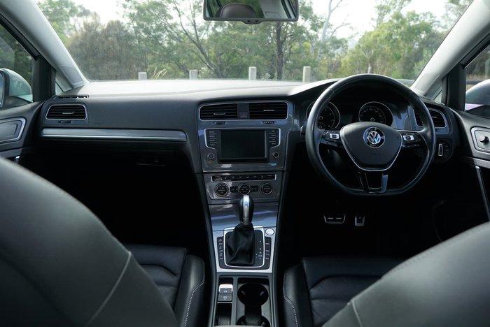 2016 Volkswagen Golf Alltrack 132TSI 7 MY16 Four Wheel Drive White