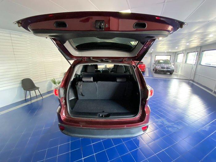 2015 Toyota Kluger GX GSU55R AWD BURGUNDY