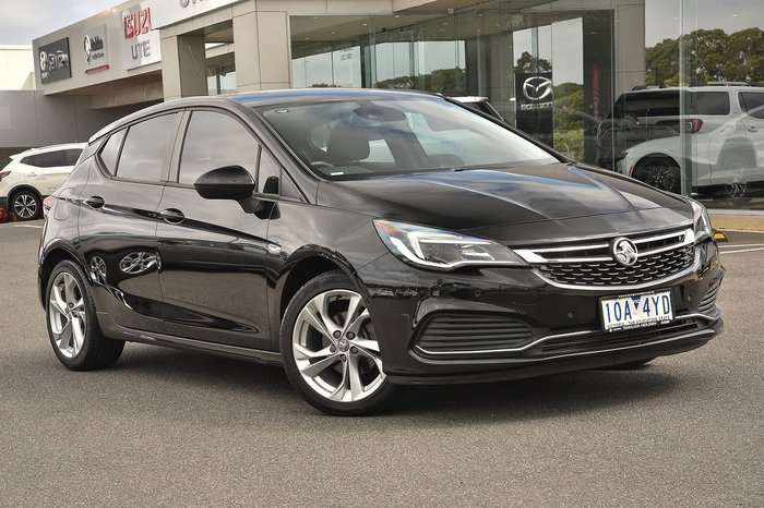 2017 Holden Astra RS BK MY17 Black