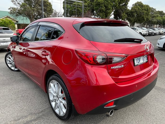 2015 Mazda 3 SP25 BM Series Red