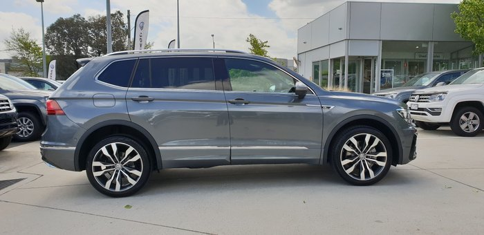 2020 Volkswagen Tiguan 162TSI Highline Allspace 5N MY21 Four Wheel Drive Platinum Grey
