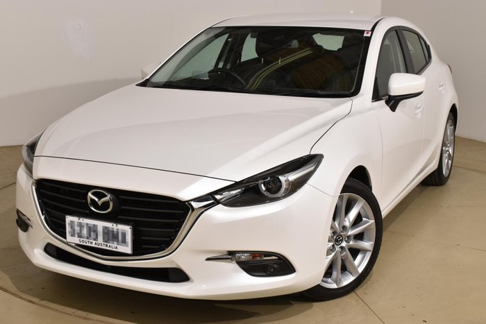 2018 Mazda 3 SP25 GT BN Series Snowflake White Pearl
