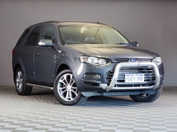 2012 Ford Territory Titanium SZ AWD Grey