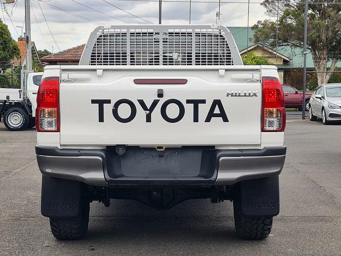 2018 Toyota Hilux SR GUN126R 4X4 Dual Range White