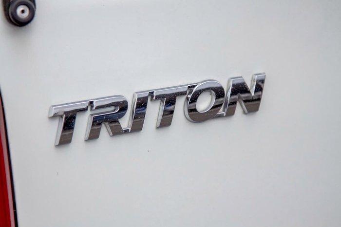 2017 Mitsubishi Triton GLX MQ MY17 4X4 Dual Range White