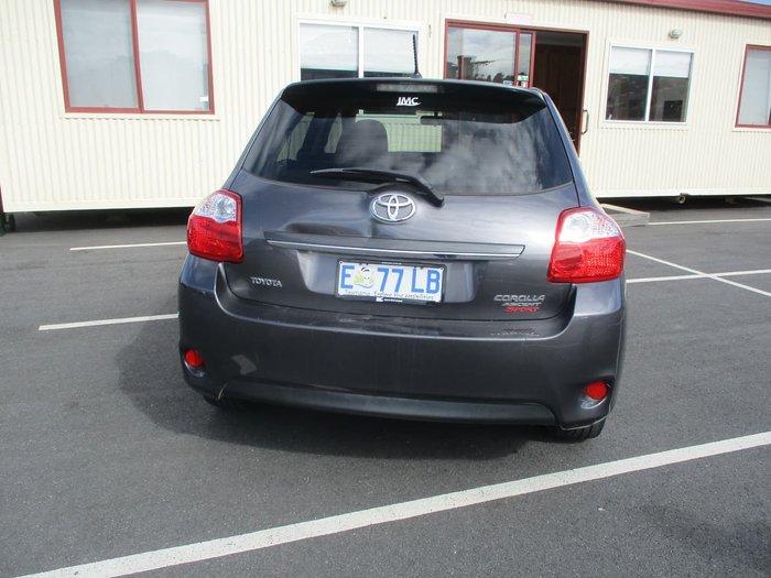 2012 Toyota Corolla Ascent Sport ZRE152R Grey
