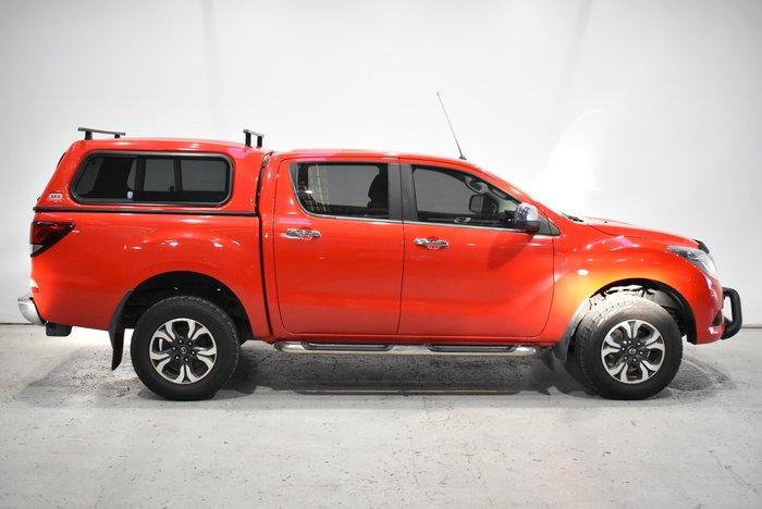 2016 Mazda BT-50 XTR UR 4X4 Dual Range True Red