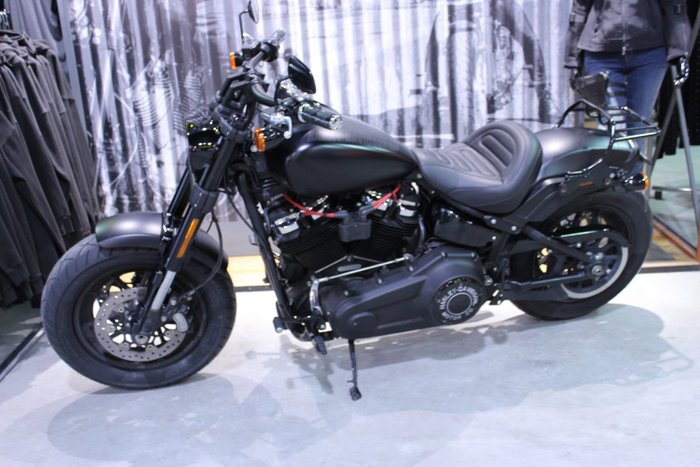 2018 Harley-davidson FXFB FAT BOB Black