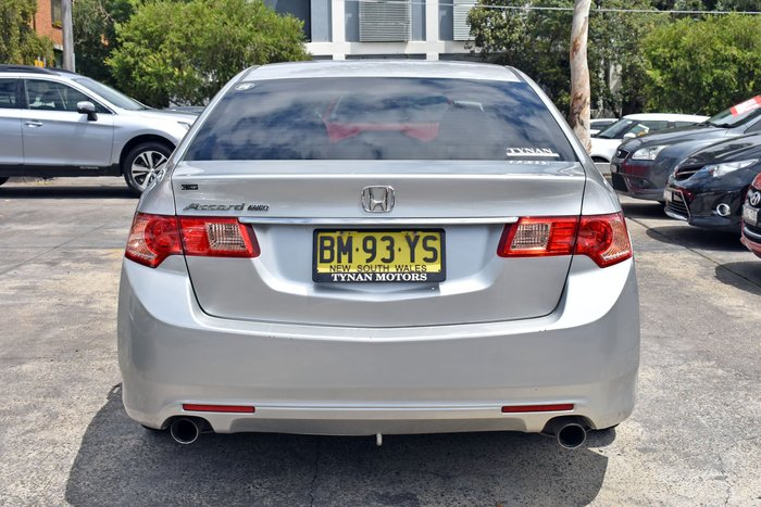2012 Honda Accord Euro 8th Gen MY12 Alabaster Silver