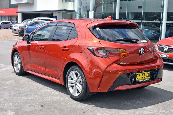 2019 Toyota Corolla Ascent Sport MZEA12R Volcanic Red
