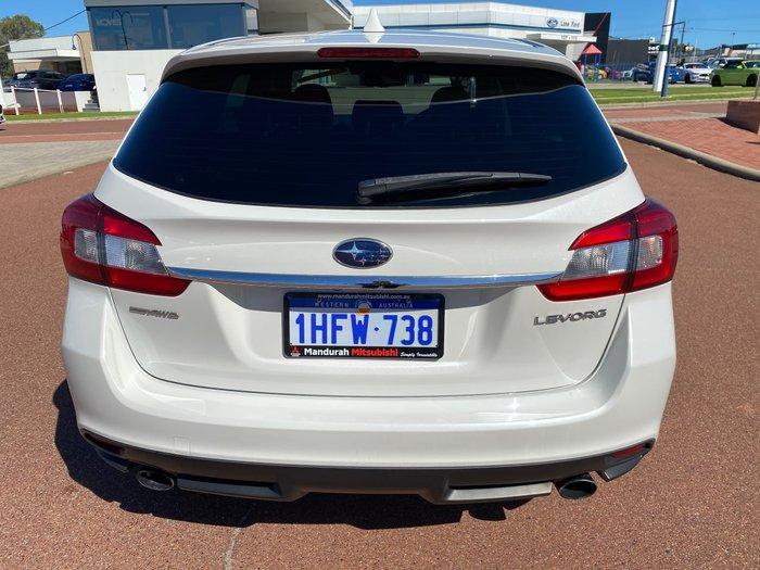 2016 Subaru Levorg 2.0 GT-S V1 MY17 AWD Crystal White