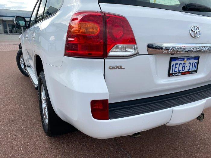 2012 Toyota Landcruiser GXL URJ202R MY12 4X4 Constant Glacier White