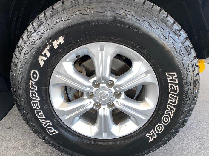 2016 Nissan Navara RX D23 Series 2 4X4 Dual Range Deep Sapphire