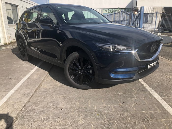 2021 Mazda CX-5 GT SP KF Series AWD Deep Crystal Blue