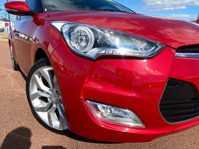 2012 Hyundai Veloster FS Veloster Red