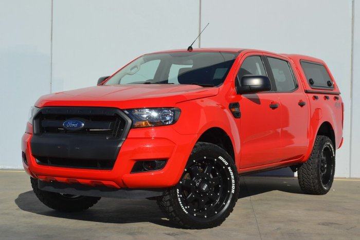2017 Ford Ranger XL PX MkII MY18 4X4 Dual Range RACE RED