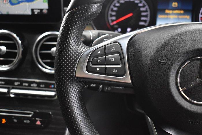 2018 Mercedes-Benz GLC-Class GLC43 AMG X253 Four Wheel Drive Silver
