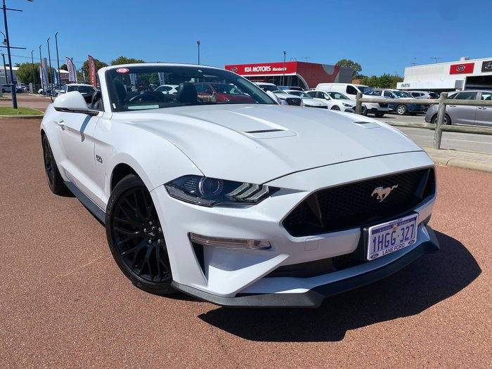 2019 Ford Mustang GT FN MY19 Oxford White