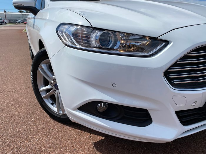 2017 Ford Mondeo Ambiente MD MY17 Frozen White
