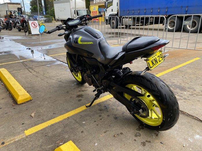 2017 Yamaha MT-07 LA (ABS) Grey