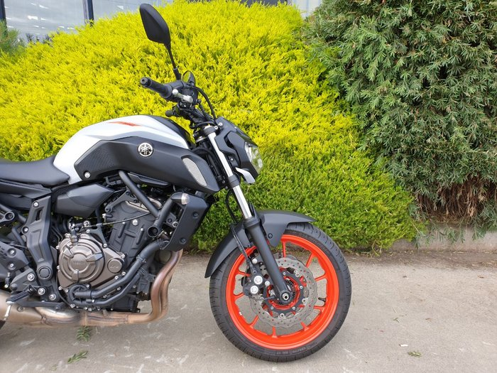 2019 Yamaha MT-07 LA (ABS) Orange
