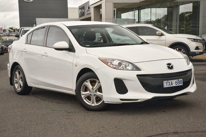 2012 Mazda 3 Neo BL Series 2 White