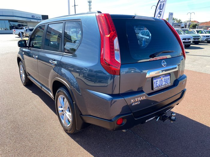 2013 Nissan X-TRAIL ST T31 Series V 4X4 On Demand Tempest Blue