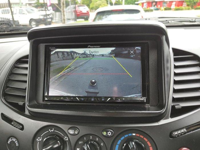2013 Mitsubishi Triton GLX MN MY13 4X4 Dual Range Silver