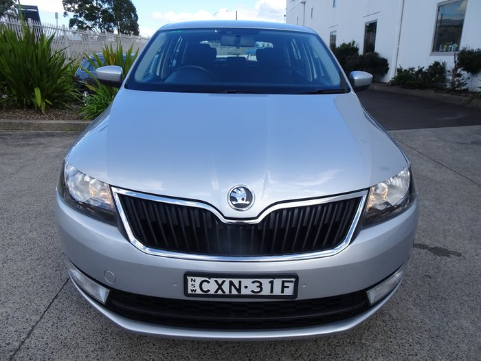2014 SKODA Rapid Ambition NH MY14 Brilliant Silver