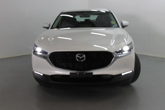 2021 Mazda CX-30 G25 Touring DM Series Snowflake White Pearl