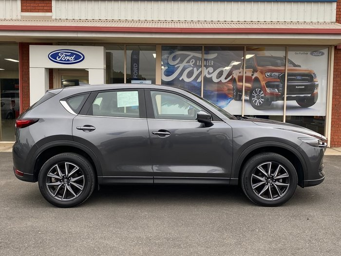 2017 Mazda CX-5 Maxx KF Series AWD Grey