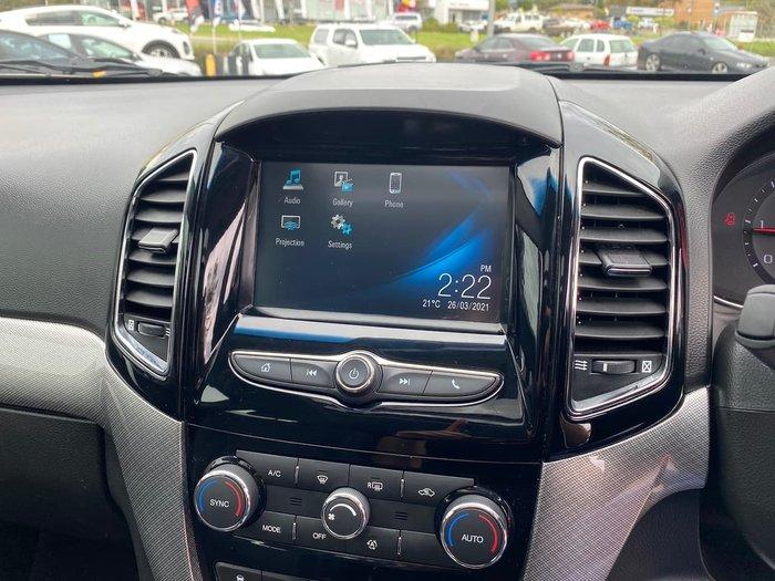 2016 Holden Captiva LTZ CG MY17 AWD Silver