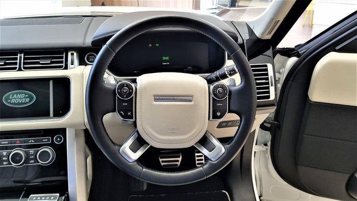 2016 Land Rover Range Rover SDV8 Autobiography L405 MY16.5 4X4 Dual Range Fuji White