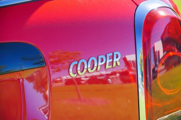 2018 MINI Countryman Cooper F60 Red