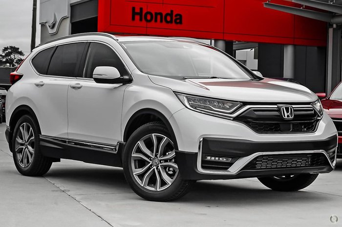 2021 Honda CR-V VTi LX AWD RW MY21 AWD White