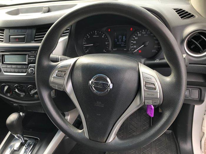 2016 Nissan Navara RX D23 Series 2 4X4 Dual Range White