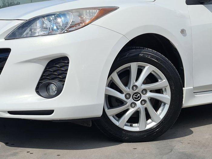 2013 Mazda 3 SP20 SKYACTIV BL Series 2 MY13 White