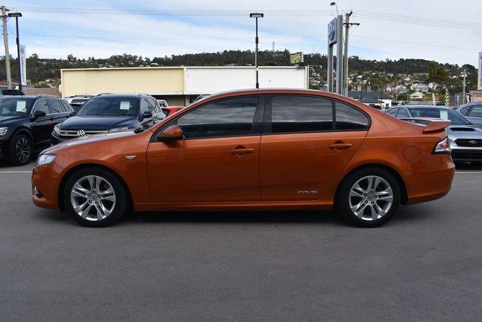 2011 Ford Falcon XR6 FG Orange
