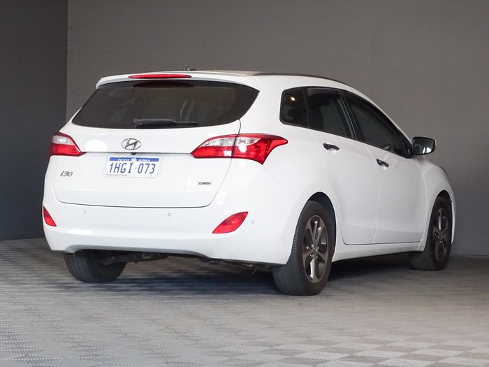 2015 Hyundai i30 Elite GD Creamy White