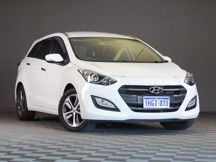 2015 Hyundai i30 Elite GD Creamy White