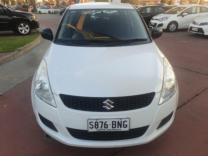 2012 Suzuki Swift GA FZ White