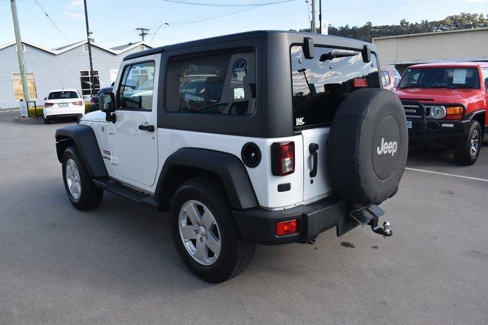 2017 Jeep Wrangler Sport JK MY17 4X4 Dual Range White