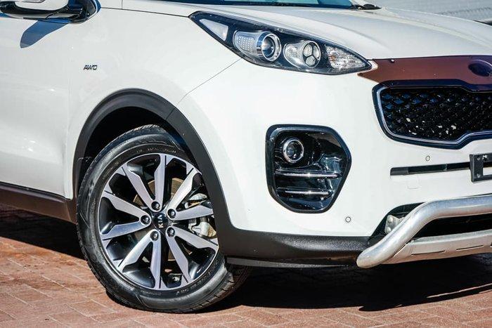 2016 Kia Sportage SLi QL MY16 AWD Clear White