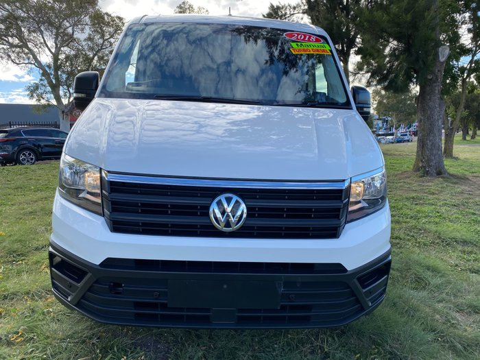 2018 Volkswagen Crafter 35 TDI340 Runner SY1 MY18 Candy White