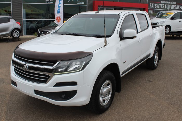 2016 Holden Colorado LS RG MY16 4X4 Dual Range Summit White